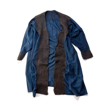 半仕立てフェルト羽織コート