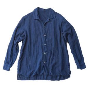 TS18-3501-W リネンキュプラオープンカラーシャツ_07